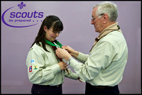 Scouts Long Service Award 2010